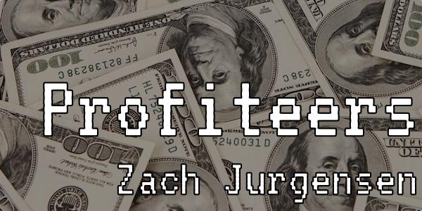 Profiteers Cover